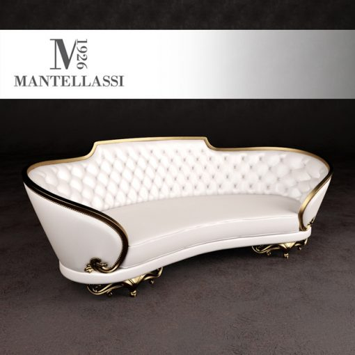 Mantellassi Narciso Sofa 3D Model