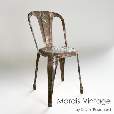 Marais Vintage Chair 3D Model