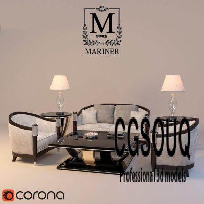 Mariner Sofa 3D model