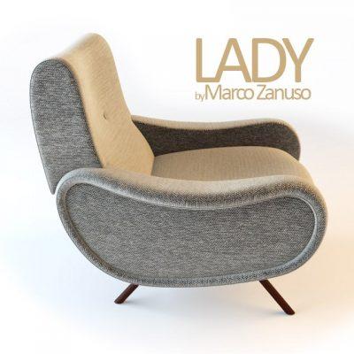Maroo Zanooso – Lady Armchair 3D Model