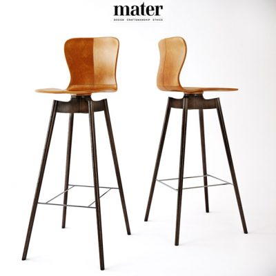 Mater Bar Stool 3D Model
