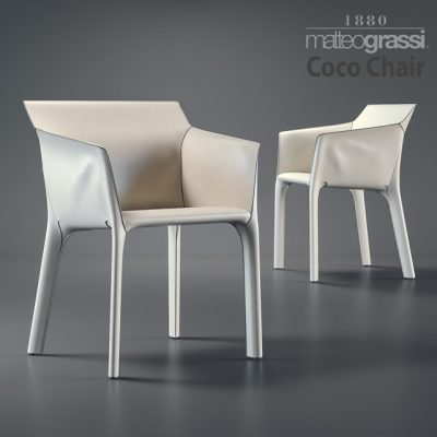 Matteograssi Coco Armchair 3D Model