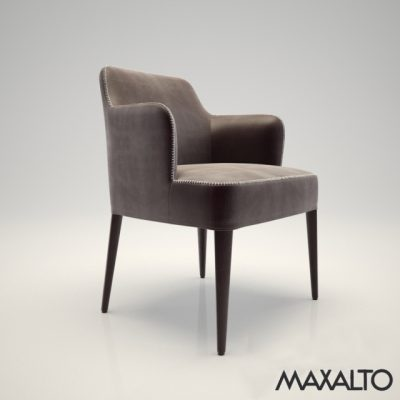 Maxalto Febo Armchair 3D Model