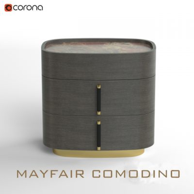 Mayfair Comodino – Cabinet 3D Model
