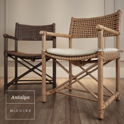 McGuire Antalya Armchair 3D Model