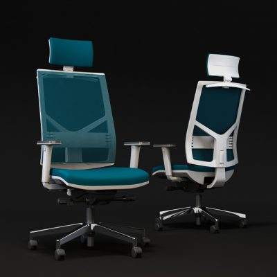 Mecplast Play Office Chair 3D Model 3