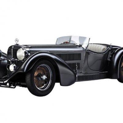 Mercedes-Benz SS Roadster 3D Model