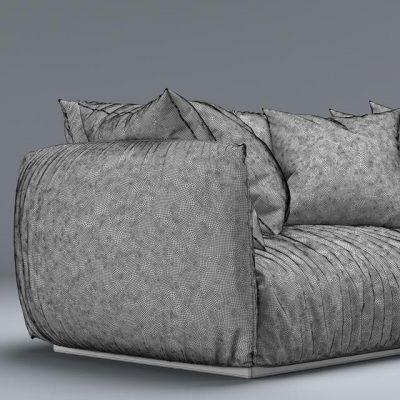 Meridiani Scott Sofa 3D Model