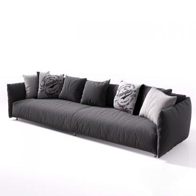 Meridiani Scott-Twin Sofa 3D Model