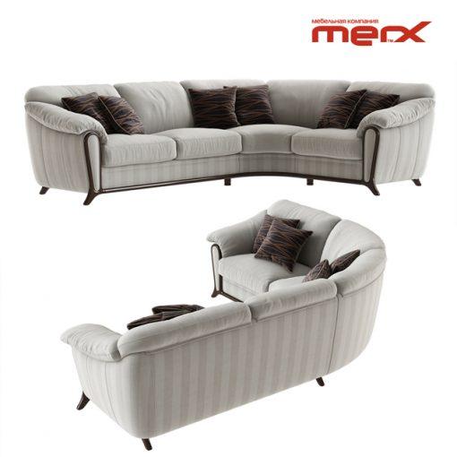 Merx Anastasia Corner Sofa 3D Model