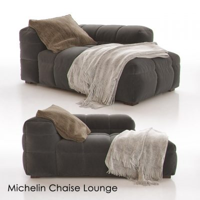 Michelin Lounge Chaise 3D Model