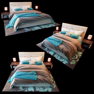 Michelle Blest Bed 3D model