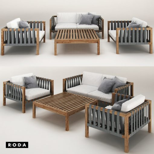 Minstral Sofa 3D Model