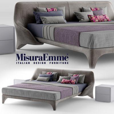 MisuraEmme Nice Bed 3D Model