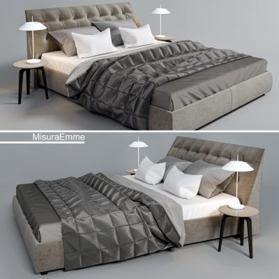 MisuraEmme Sumo Bed 3D Model
