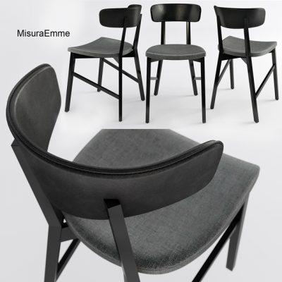 MisuraEmme Table & Chair 3D Model 2