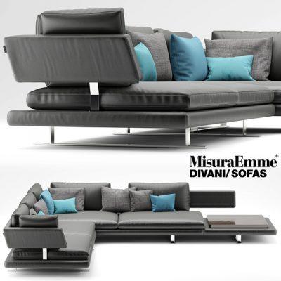 Misuraemme Borderline Sofa 3D Model