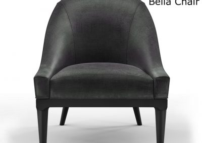 Mitchell Gold and Bob Williams Bella Chair 3D Model 2