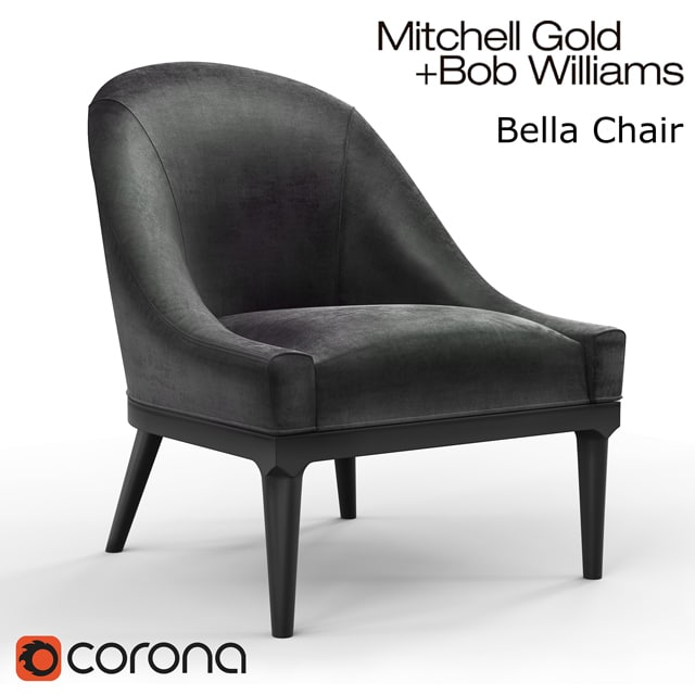 Mitchell Gold and Bob Williams Bella Chair 3D Model