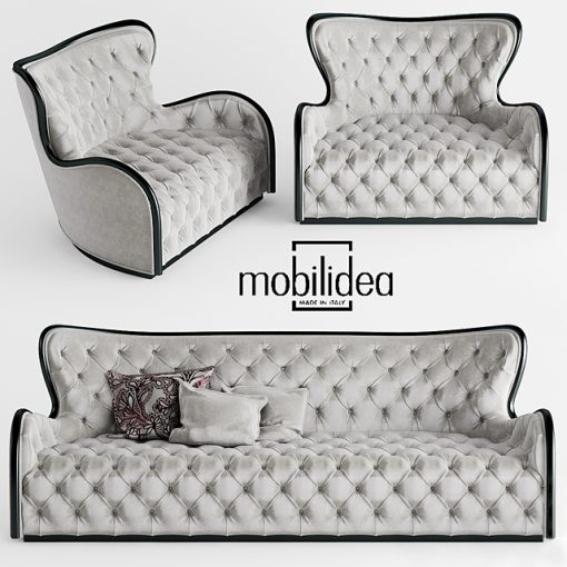Mobildea Margot Divano Sofa 3D Model