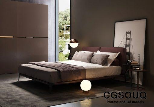 Modern Bedroom 03