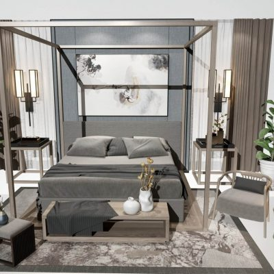 Modern Bedroom 08