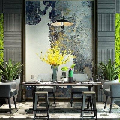 Modern Dining room 3D model