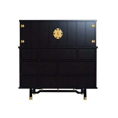 Modern Sideboard and Chest of drawer 3D model (2)