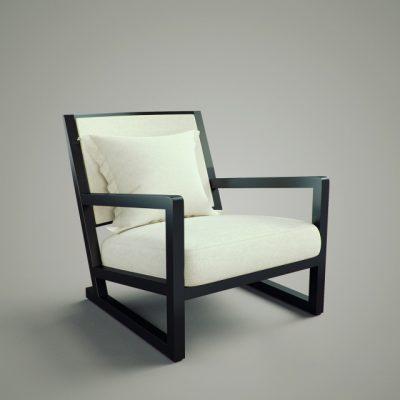 Modern Sofa-390 3D Model