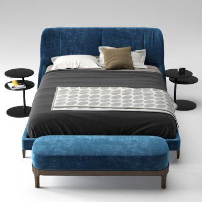 Molteni & C Fulham Bed 3D Model
