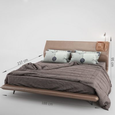 Molteni & C – Night & Day Bed 3D Model