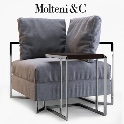 Molteni&C Large Armchair 3D Model