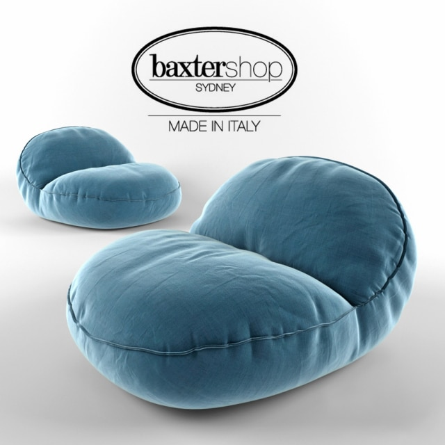 Pleasing Montreal Bean Bag 3D Model Pabps2019 Chair Design Images Pabps2019Com