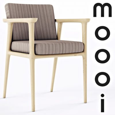 Moooi Zio Dining Chair 3D Model