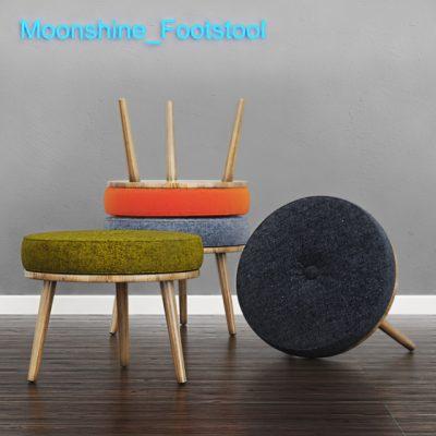 Moonshine Footstool 3D Model