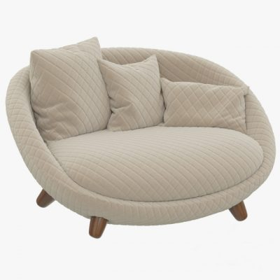 Moooi Love Sofa 3D Model 1