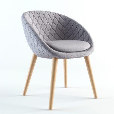 Moooi Love Chair 3D Model