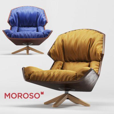 Moroso Clarissa Chair 3D Model
