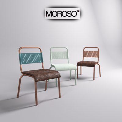 Morosso Nizza Chair 3D Model