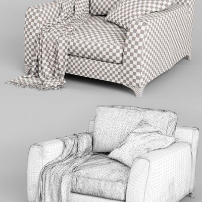 Mr. Floyd Vol.04 Chair 3D Model 3
