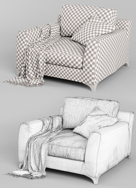 Mr. Floyd Vol.04 Chair 3D Model 3