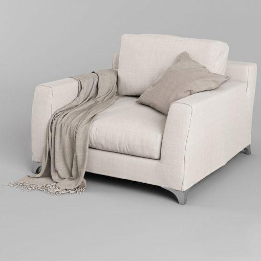 Mr. Floyd Vol.04 Chair 3D Model