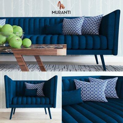 Muranti sofa 3D model 2