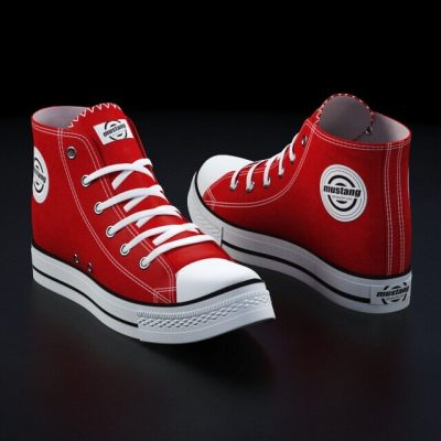 Mustang Shoes 3D Models 1