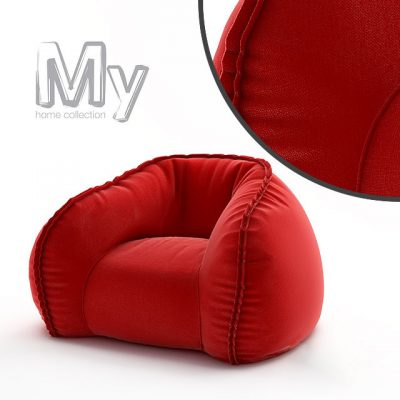 My Home Collection Hug Armchair 3D Model