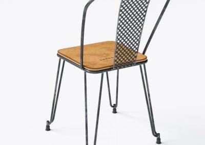 Napier Dining Chair 3D Model 3