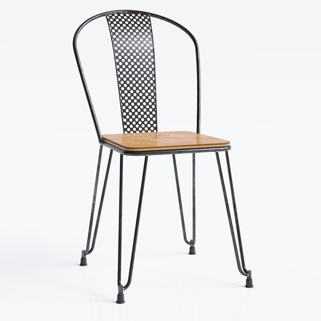 Napier Dining Chair 3D Model