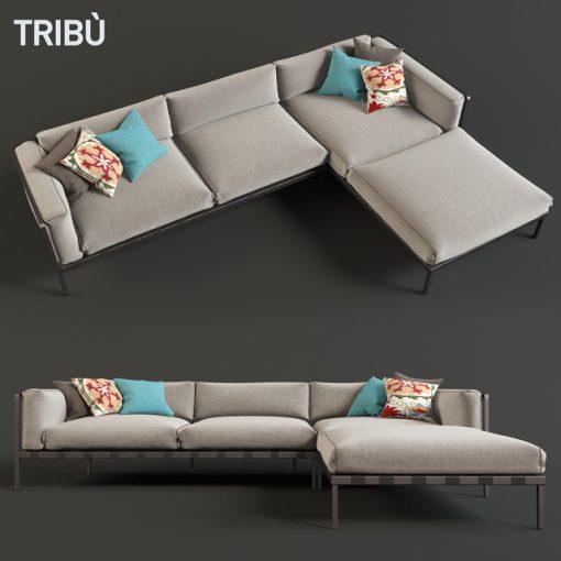 Natal Alu Sofa 3D Model