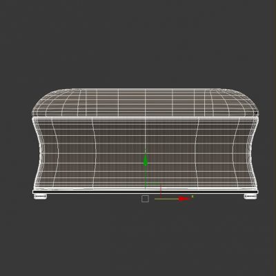 Natalie Storage Bench 3D Model
