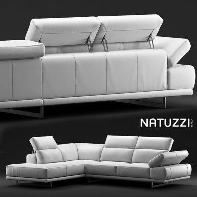Natuzzi Borghese Sofa 3D Model